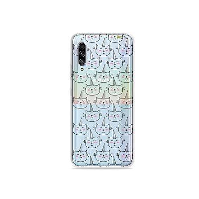 Capinha (Transparente) para Galaxy A90 - Catcorn