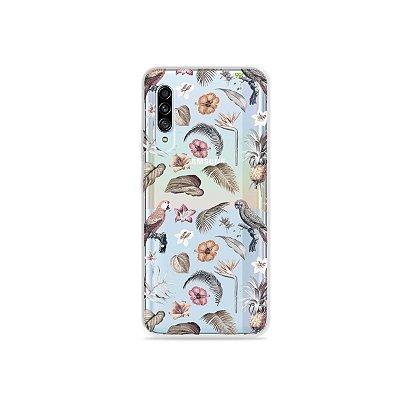 Capinha (Transparente) para Galaxy A90 - Sweet Bird
