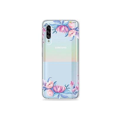 Capinha (Transparente) para Galaxy A90 - Bromélias