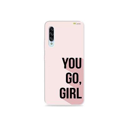 Capinha para Galaxy A90 - You Go, Girl
