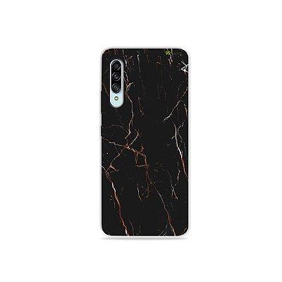 Capinha para Galaxy A90 - Marble Black