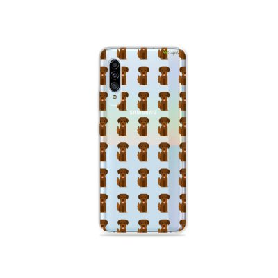Capinha (Transparente) para Galaxy A90 - Golden