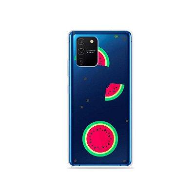 Capa (Transparente) para Galaxy S10 Lite - Melancias