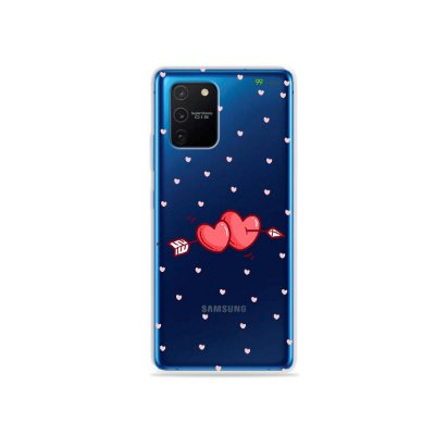 Capa (Transparente) para Galaxy S10 Lite - In Love