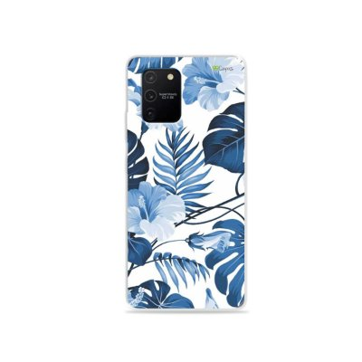 Capa para Galaxy S10 Lite - Flowers in Blue
