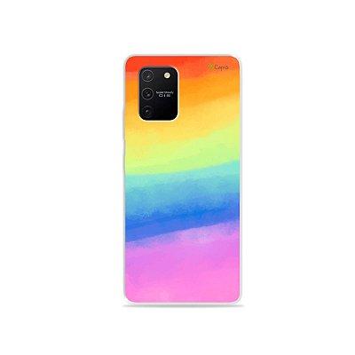 Capa para Galaxy S10 Lite - Rainbow