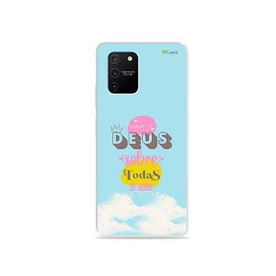 Capa para Galaxy S10 Lite - Amar a Deus