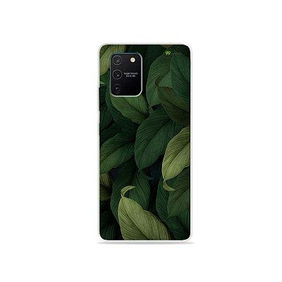 Capa para Galaxy S10 Lite - Folhas