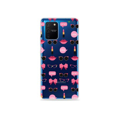 Capa (Transparente) para Galaxy S10 Lite - Girls