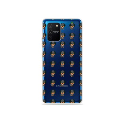 Capa (Transparente) para Galaxy S10 Lite - Salsichinha