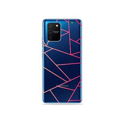 Capa (Transparente) para Galaxy S10 Lite - Abstrata