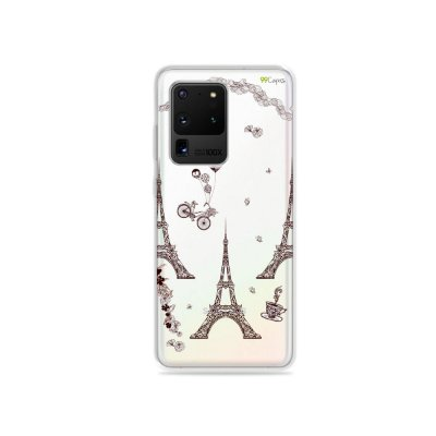 Capa (Transparente) para Galaxy S20 Ultra - Paris