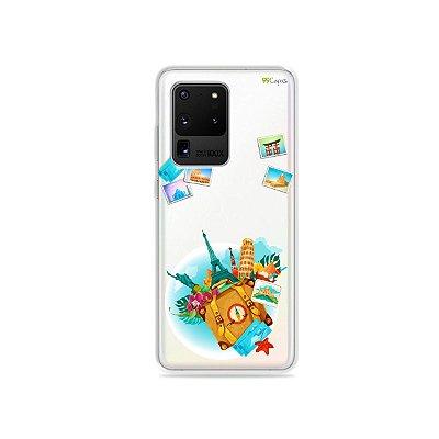 Capa (Transparente) para Galaxy S20 Ultra - Memórias