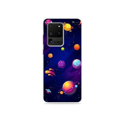 Capa para Galaxy S20 Ultra - Galáxia
