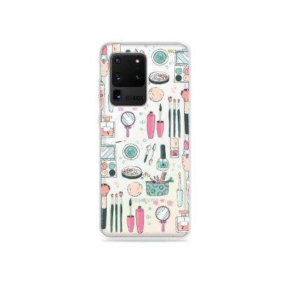 Capa (Transparente) para Galaxy S20 Ultra - Make Up