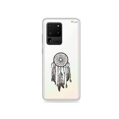 Capa (Transparente) para Galaxy S20 Ultra - Filtro dos Sonhos