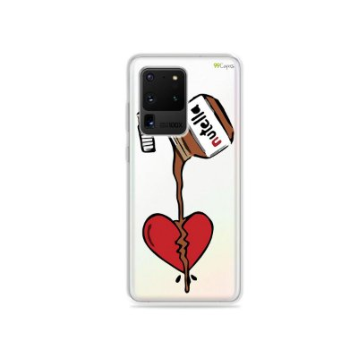 Capa (Transparente) para Galaxy S20 Ultra - Nutella