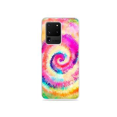 Capa para Galaxy S20 Ultra - Tie Dye