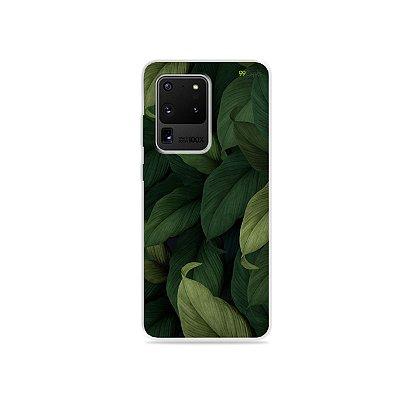 Capa para Galaxy S20 Ultra - Folhas