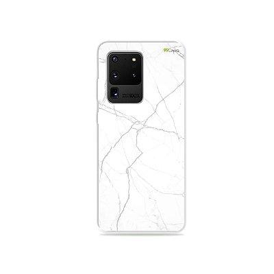 Capa para Galaxy S20 Ultra - Marble White