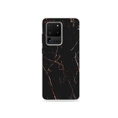 Capa para Galaxy S20 Ultra - Marble Black