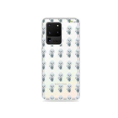 Capa (Transparente) para Galaxy S20 Ultra - Poodle