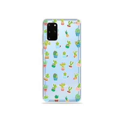 Capa (Transparente) para Galaxy S20 Plus - Cactus