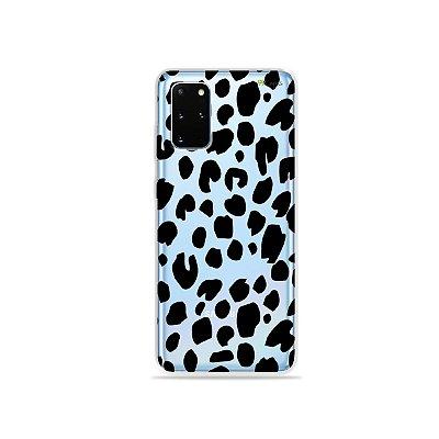 Capa (Transparente) para Galaxy S20 Plus - Animal Print Basic