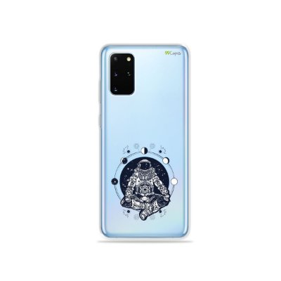 Capa (Transparente) para Galaxy S20 Plus - Astronauta
