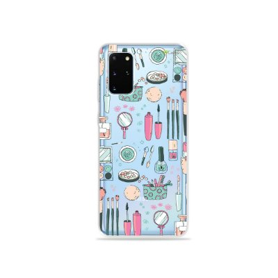 Capa (Transparente) para Galaxy S20 Plus - Make Up