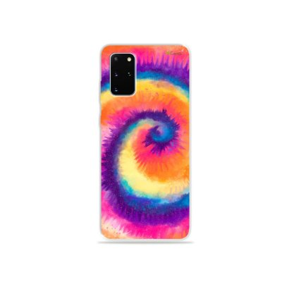 Capa para Galaxy S20 Plus - Tie Dye Roxo