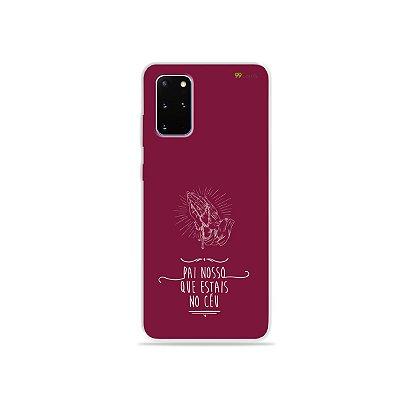Capa para Galaxy S20 Plus - Pai Nosso