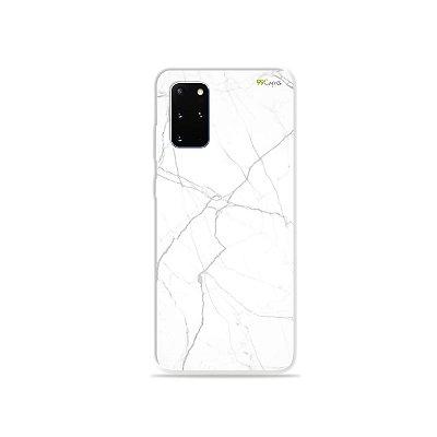 Capa para Galaxy S20 Plus - Marble White