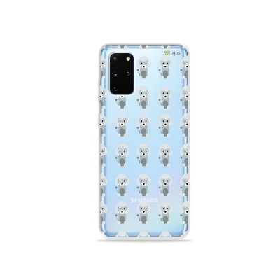 Capa (Transparente) para Galaxy S20 Plus - Poodle