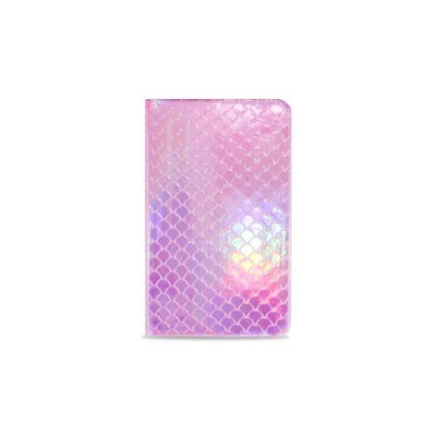 Caderneta Sereia Pink (Holográfica)