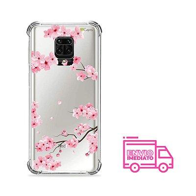 Capa (transparente) para Redmi Note 9 Pro - Cerejeiras