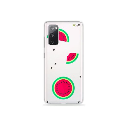 Capa (Transparente) para Galaxy S20 FE - Melancias