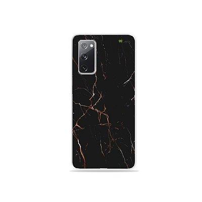 Capa para Galaxy S20 FE - Marble Black