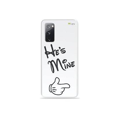 Capa para Galaxy S20 FE - He's Mine