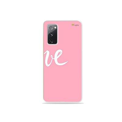 Capa para Galaxy S20 FE - Love 2