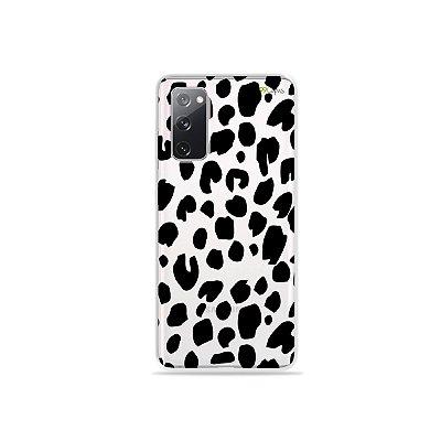 Capa (Transparente) para Galaxy S20 FE - Animal Print Basic