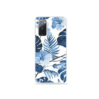 Capa para Galaxy S20 FE - Flowers in Blue