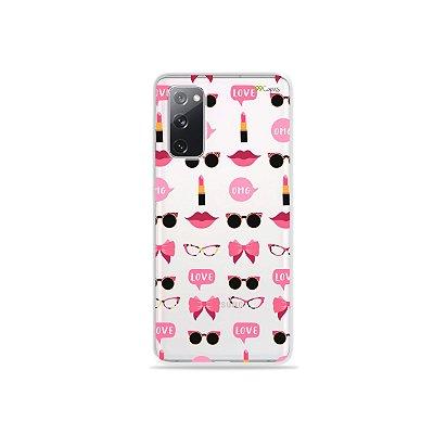 Capa (Transparente) para Galaxy S20 FE - Girls