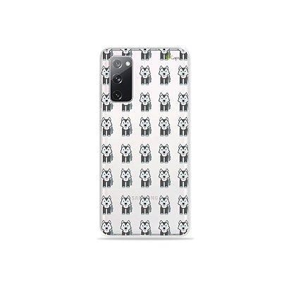 Capa (Transparente) para Galaxy S20 FE - Husky