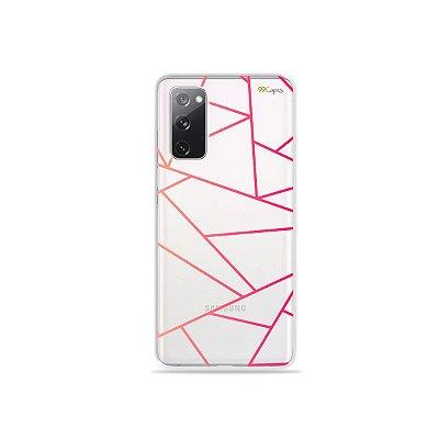 Capa (Transparente) para Galaxy S20 FE - Abstrata