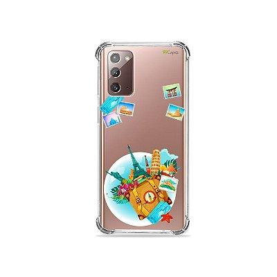 Capa (Transparente) para Galaxy Note 20 - Memórias