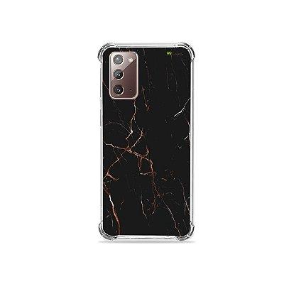 Capa para Galaxy Note 20 - Marble Black