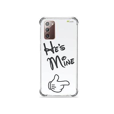 Capa para Galaxy Note 20 - He's Mine