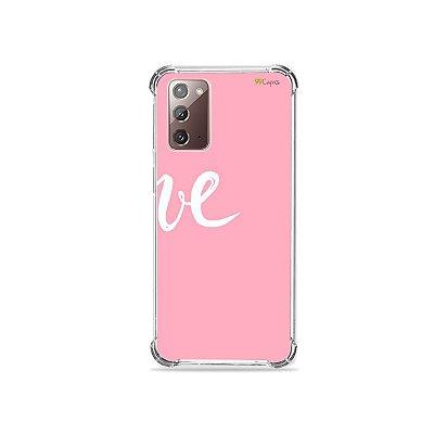 Capa para Galaxy Note 20 - Love 2