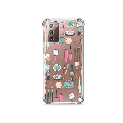Capa (Transparente) para Galaxy Note 20 - Make Up